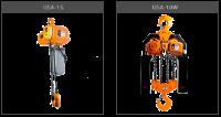 Односкоростная электроталь/крюковая подвеска DSA