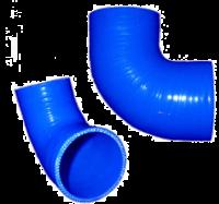 Патрубок силиконовый угол 90*