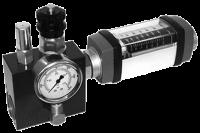 16 Расходомер со встроенным нагрузочным предохранительным клапан