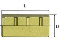Втулка для шланга SAE100R-R8 (термопластик)