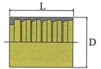Втулка для шланга SAE100R1AT/EN853 1SN