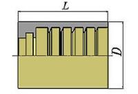 Втулка для шланга SAE100R2AT/EN853 2SN