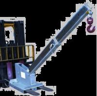 Наклонная кран-балка типа TJCL45 - 4,5 тонны длинная