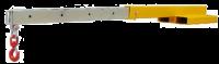 Фиксируемая кран-балка типа FJCL45 - 4.5 тонны длинная