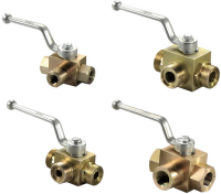 Клапан запорный 3-ходовой