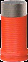 Износостойкая труба с двойными стенками