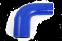 Патрубок силиконовый переходной угол 90*